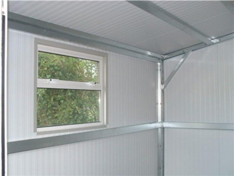 Gold Range framework Shanette Sheds with Window