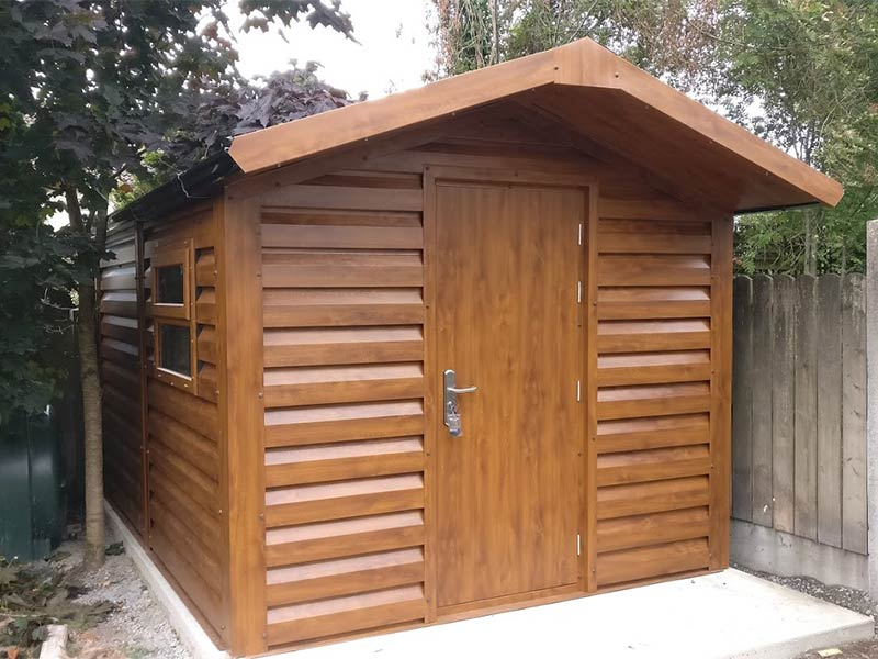 13' x 9'6 Gold Range Garden Shed with Shiplap profile cladding