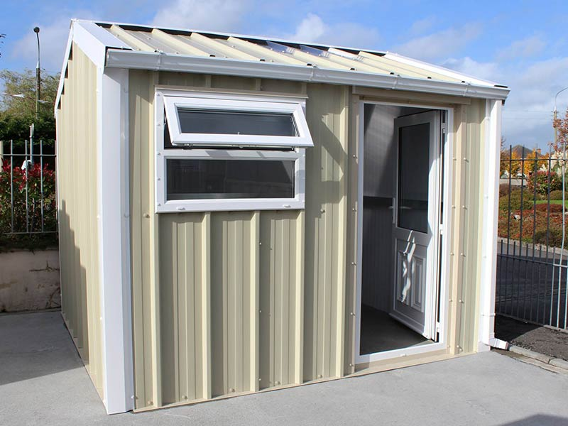 3m x 2.9m Gold Range Home Office with vertical cladding