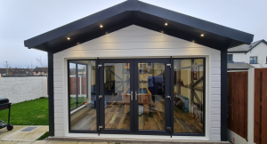 6.1m x 5m Insulated Games Room