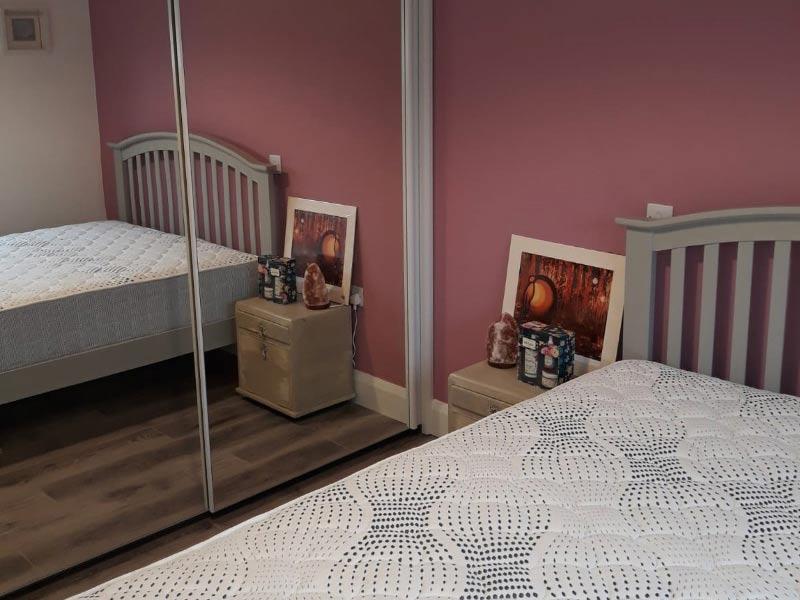 Chalet Bedroom 1 Shanette Sheds