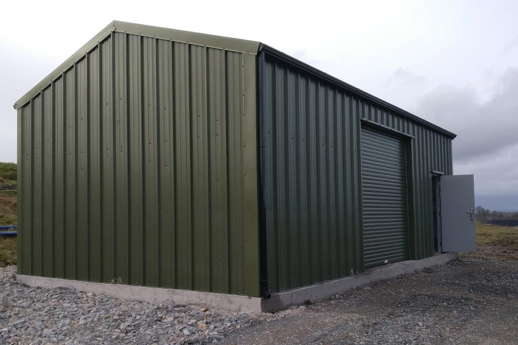 10m x 5.5m 40mm Insulated Gold Range Unit Shanette Sheds