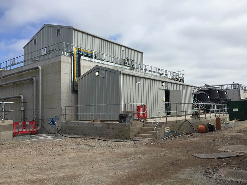 13m x 9.5m and 12.1m x 4m Gold Range units for Mogeely Cheese factory, Shanette Sheds 800