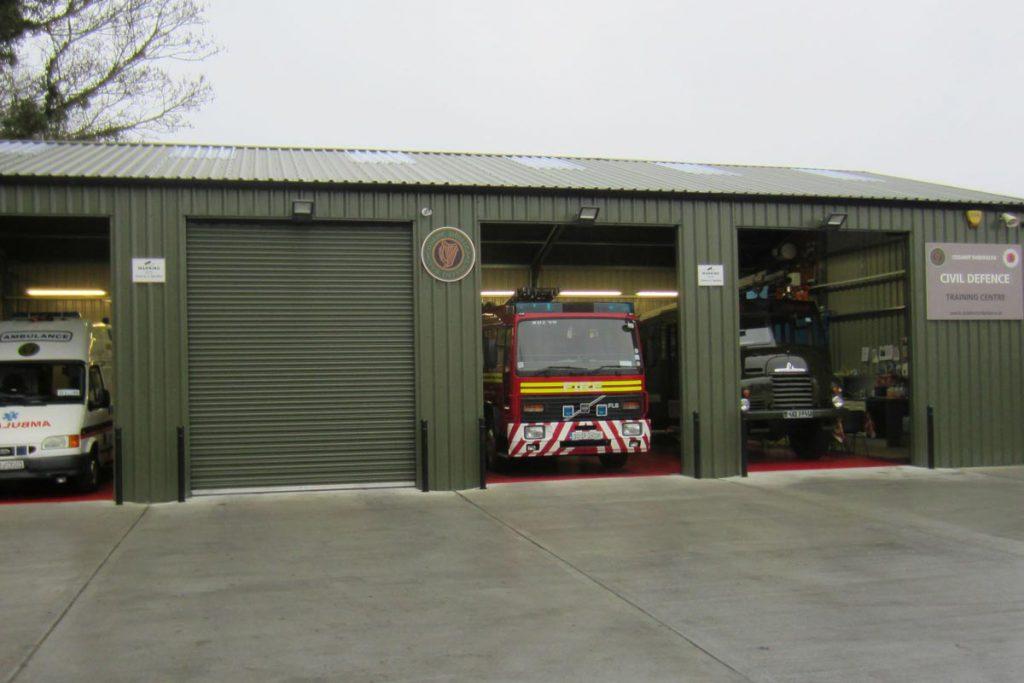 18.2m x 9.2m Bronze Range unit Civil Defense Emergency Services