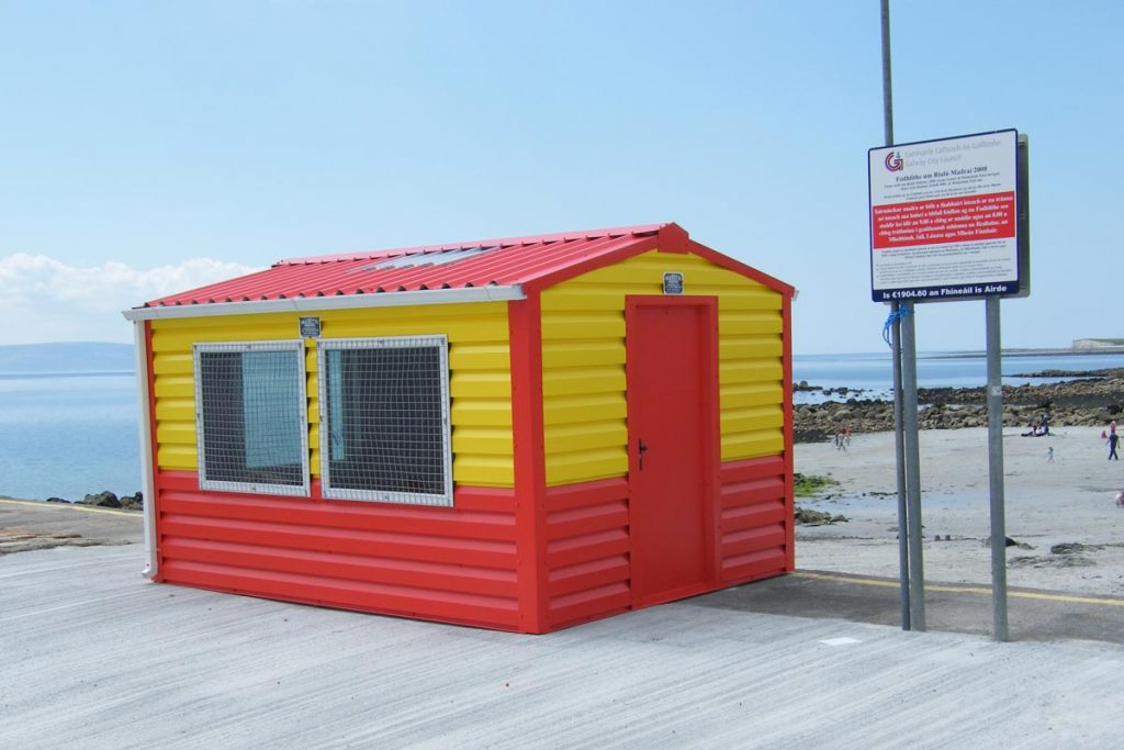 Lifeguard hut, Galway, Shanette Sheds