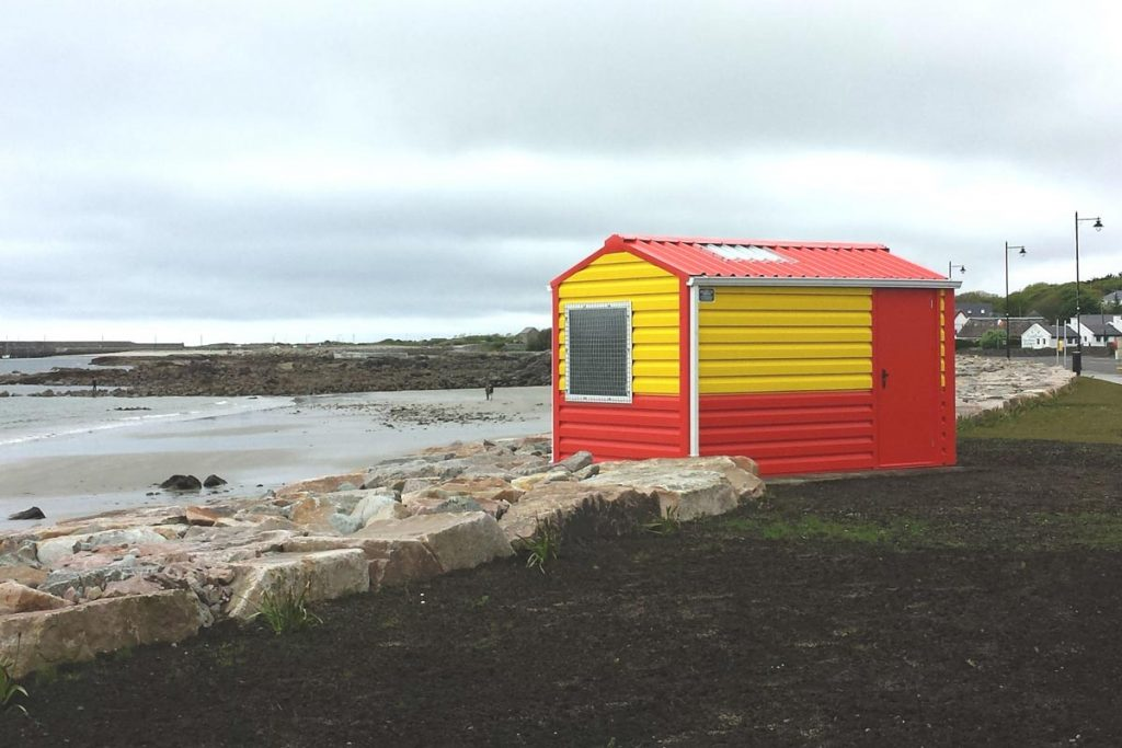 Lifeguard hut, Spiddal, Shanette Sheds