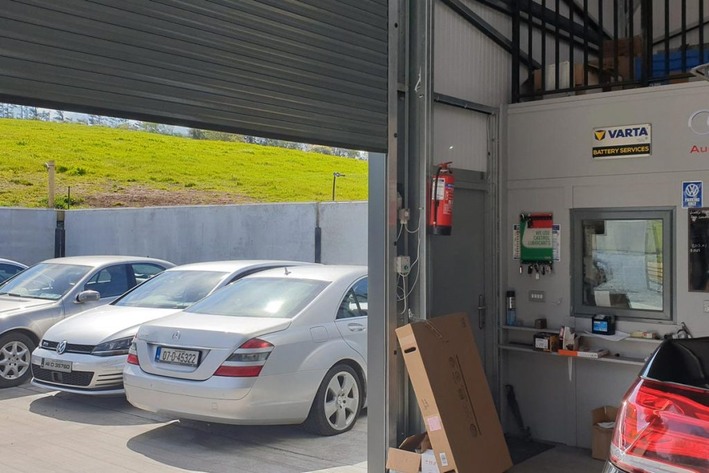 Service garage for Cawley Motors, Mayo