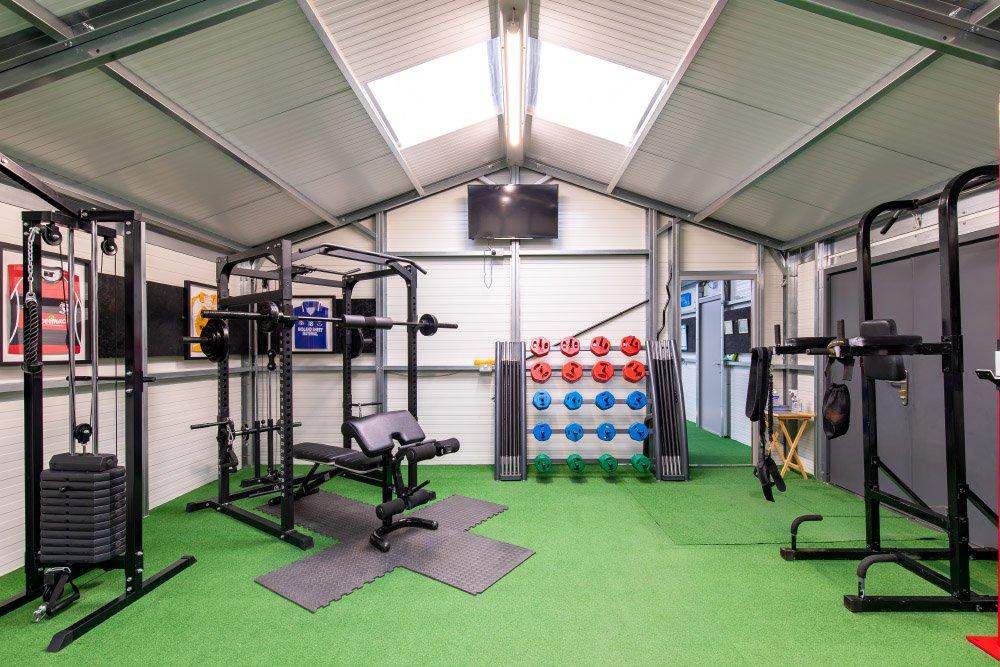 Gavgian Sports Treatment rooms, Tyrellspass. Shanette Sheds