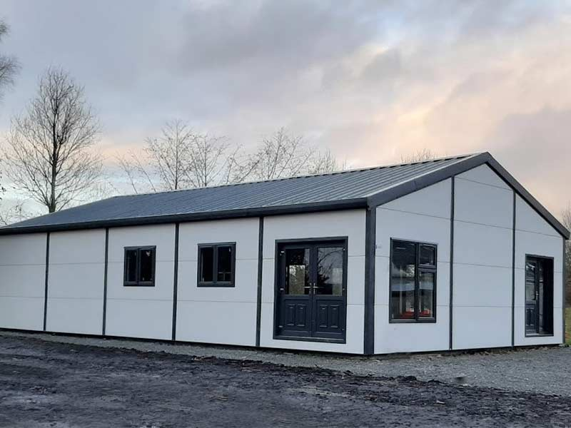 Rooskey Pre School 100mm Insulate Gold Range Shanette Sheds