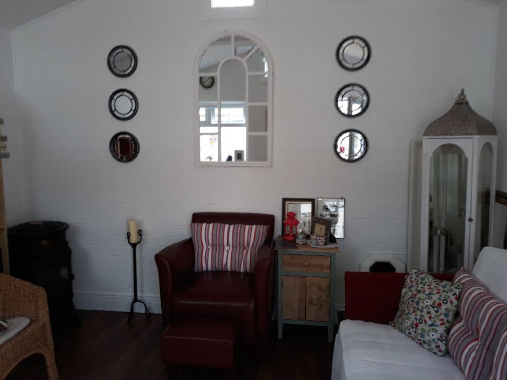 Therapy room interior