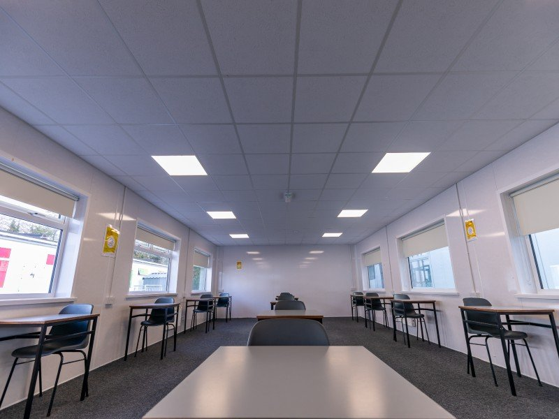 Moate Business College Classroom interior